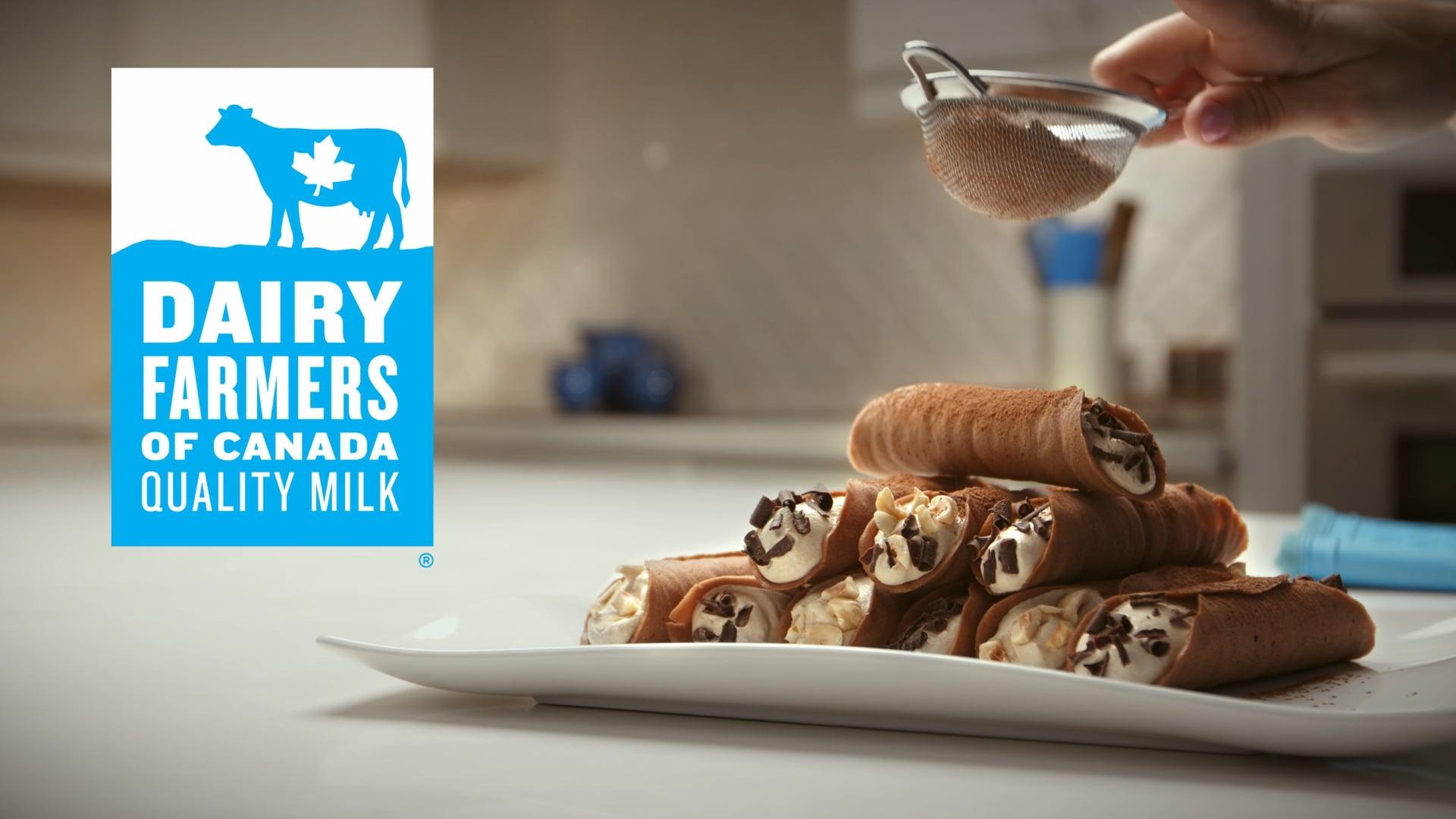"""Dairy Farmers of Canada """"Cannoli"""""""