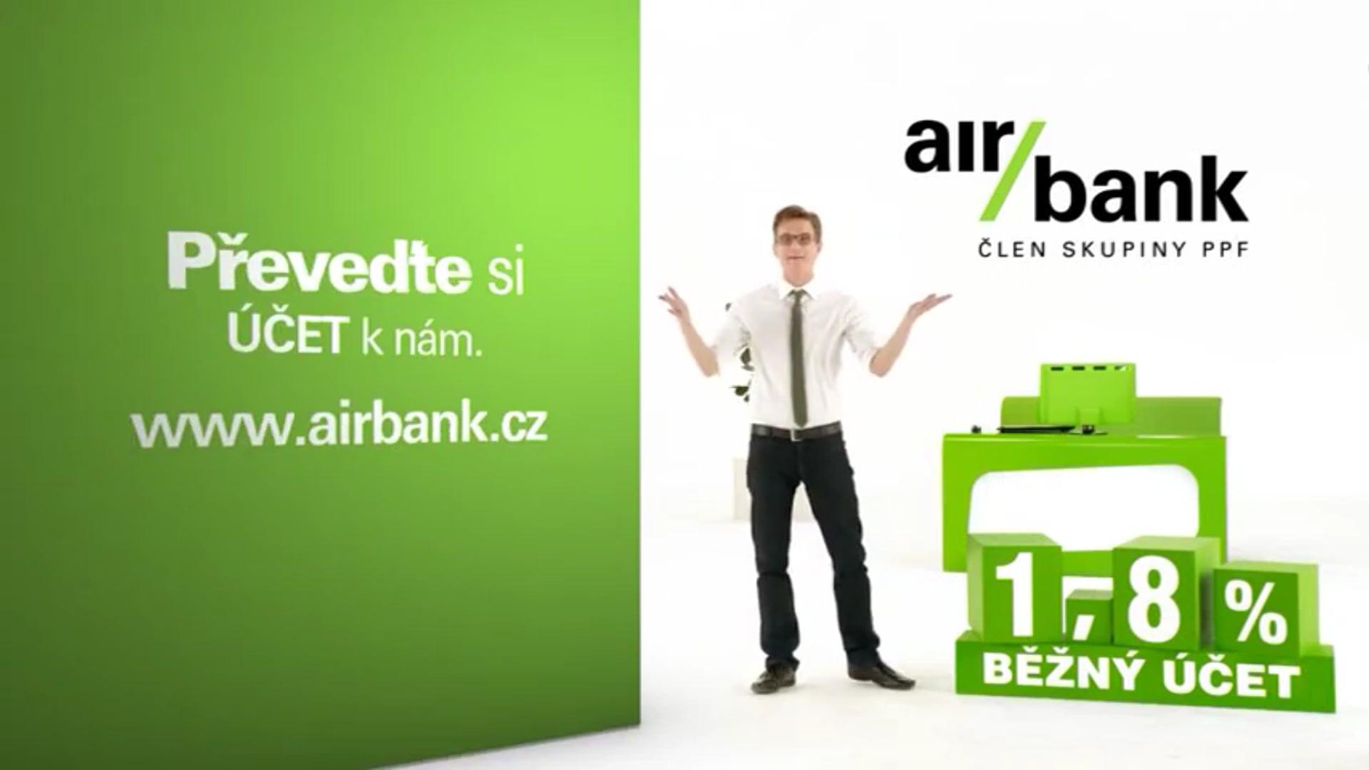 Air bank TV reklama