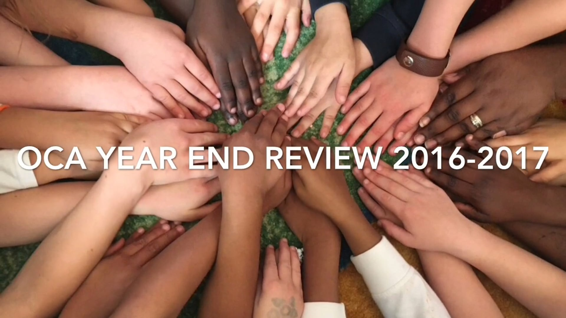 OCA Year End Review 2016-2017
