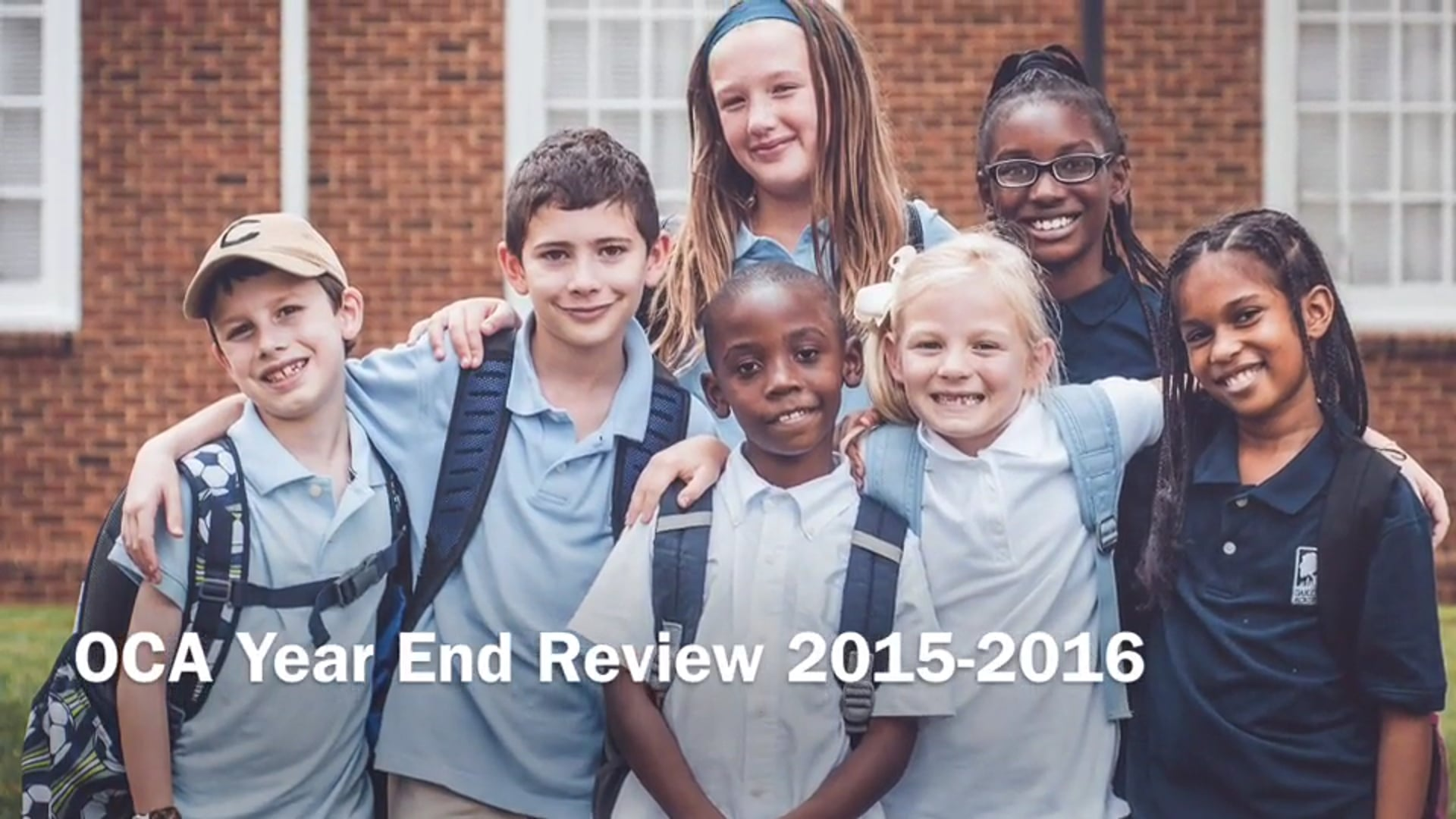 OCA Year End Review 2015-2016