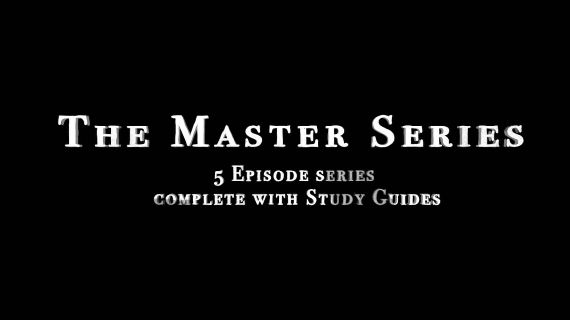 Artrageous Presents The Master's Series