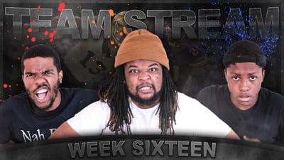The Madden Beef Week 16 Team Stream!  Part 2