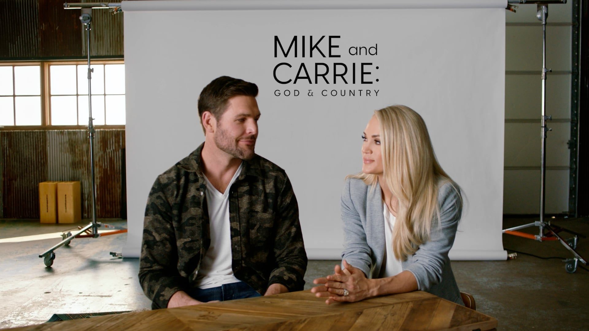 Mike + Carrie   God and Country