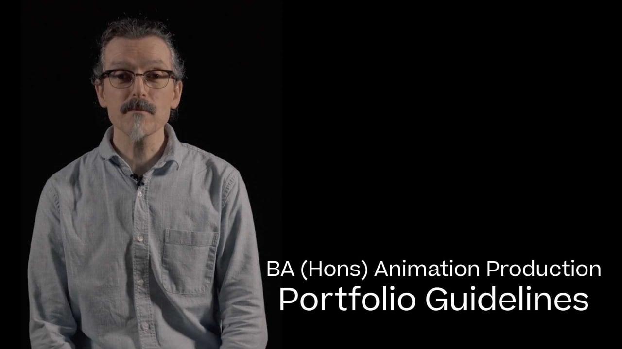 Animation Portfolio Guide 2021