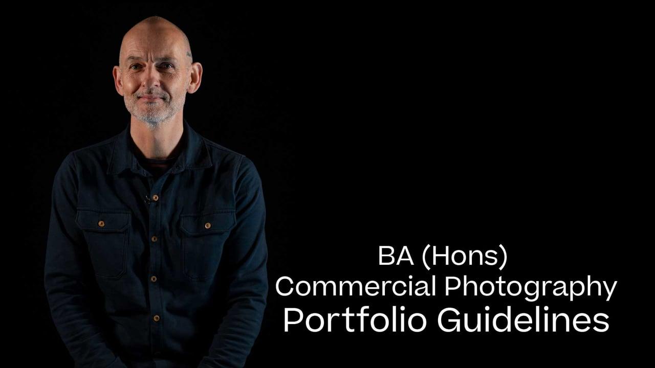 Commercial Photography Portfolio Guide 2021
