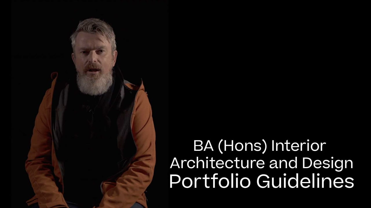 Interior Architecture and Design Portfolio Guide 2021