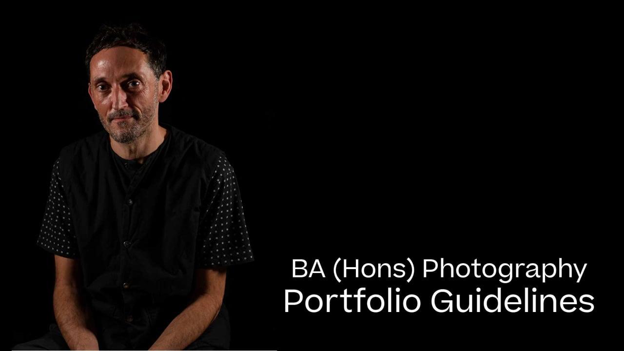 Photography Portfolio Guide 2021