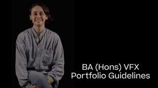 VFX Portfolio Guide 2021