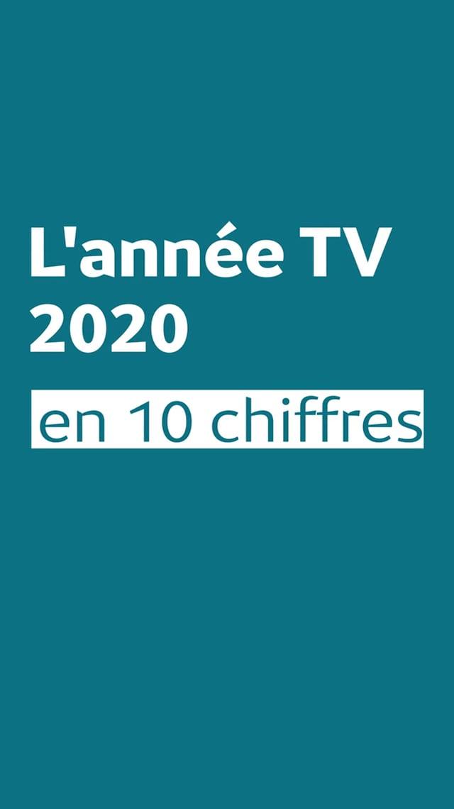 L'année TV 2020 en 10 chiffres
