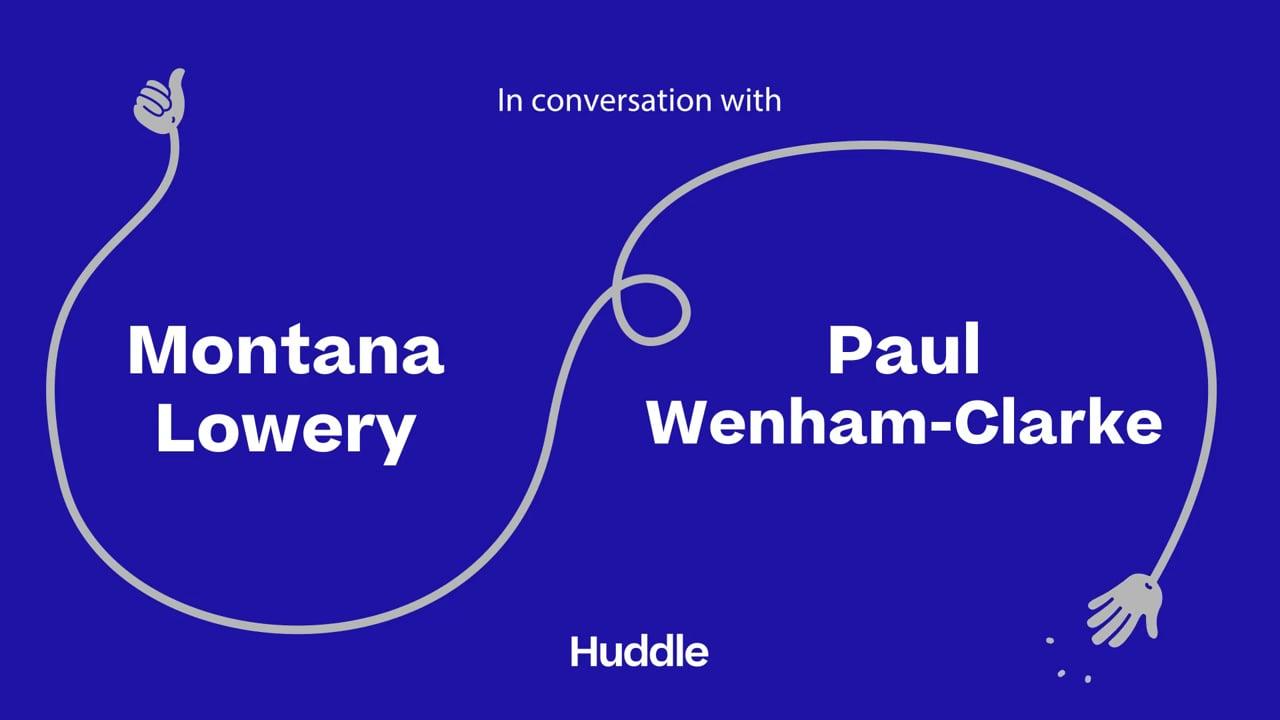 Huddle: Montana Lowery