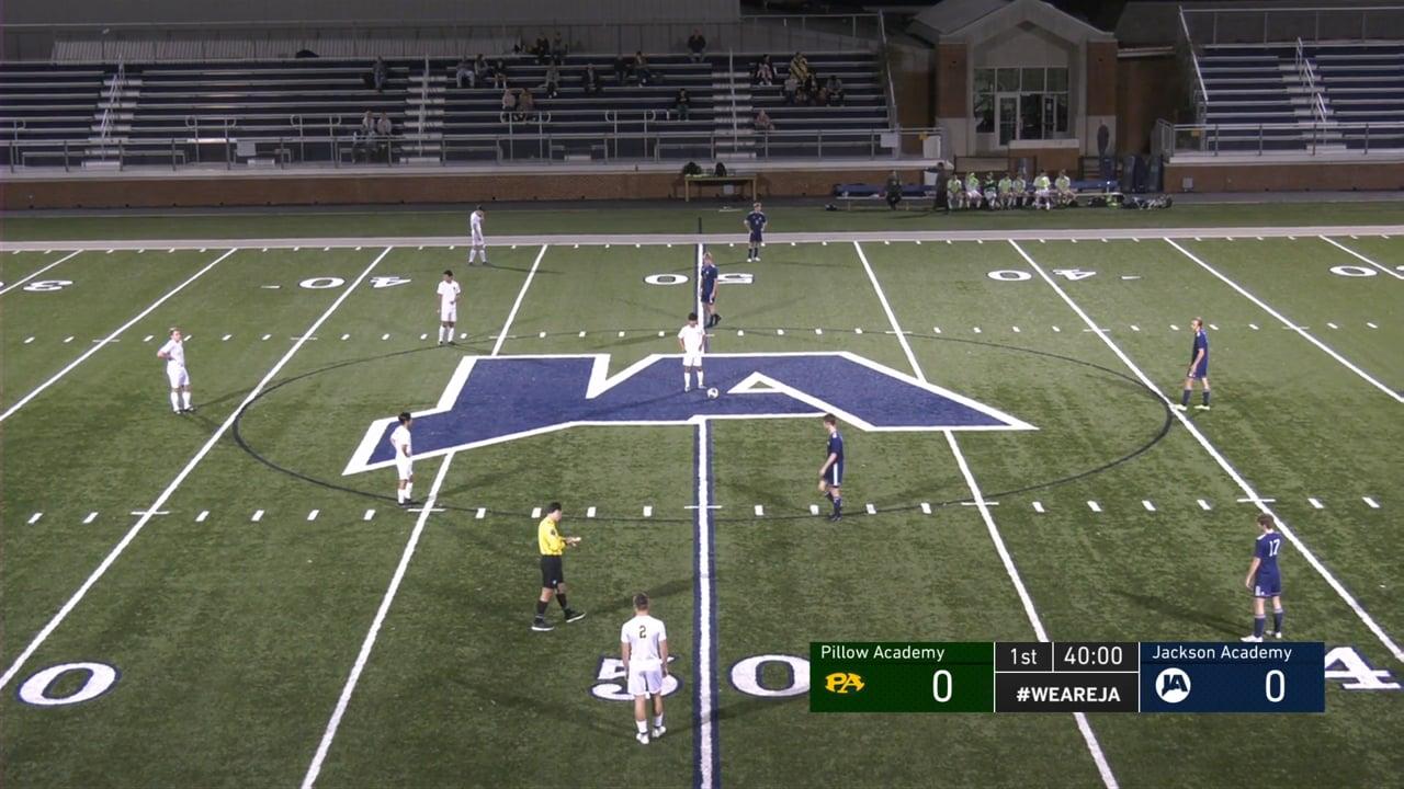 Varsity Boys Soccer vs Pillow Academy - 01-26-21