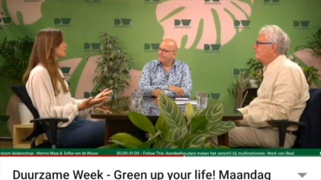 tafelgesprek video duurzame week