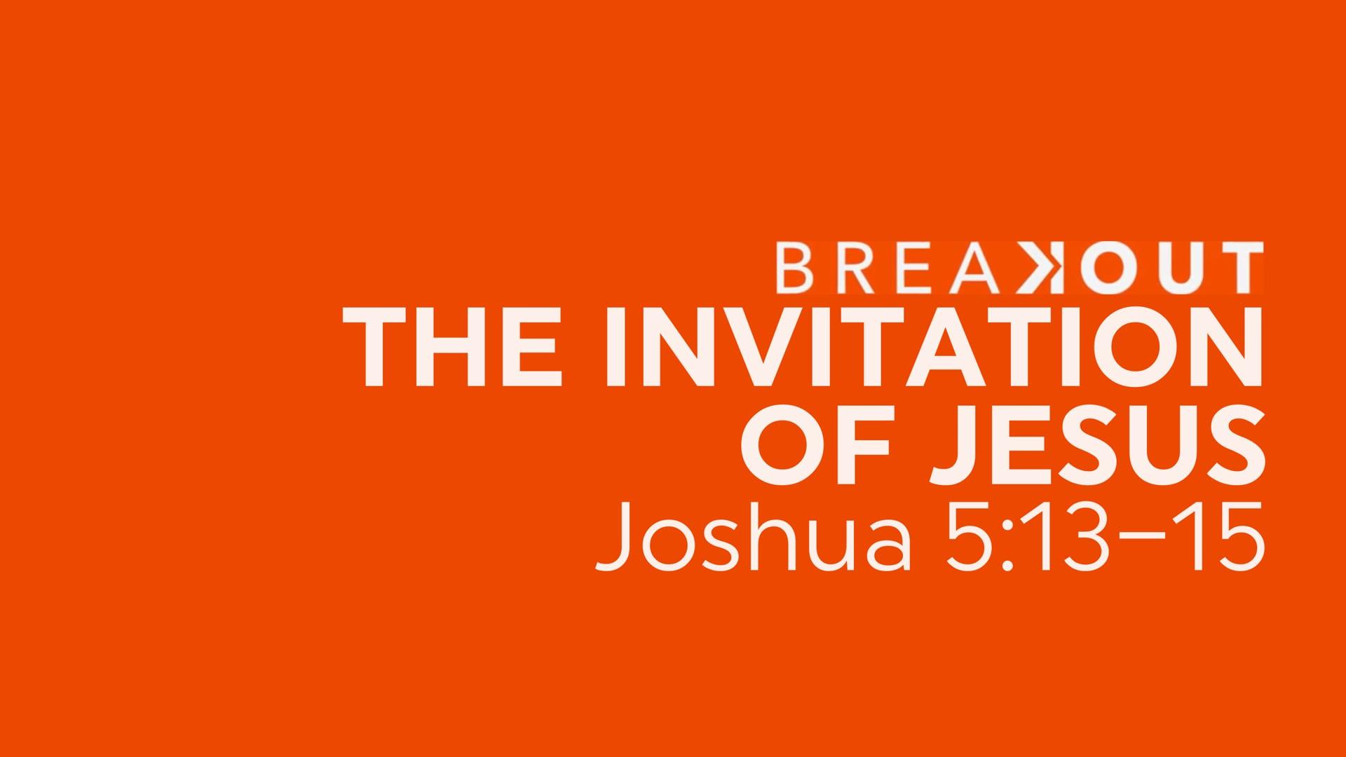 The Invitation of Jesus - January 31, 2021