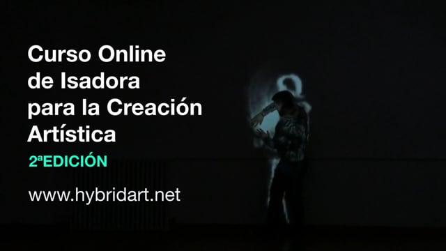 Curso Online de Isadora pra la Creación Artística