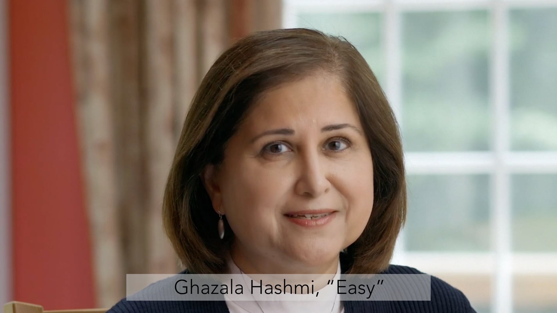 "Ghazala Hashmi, ""Easy"""