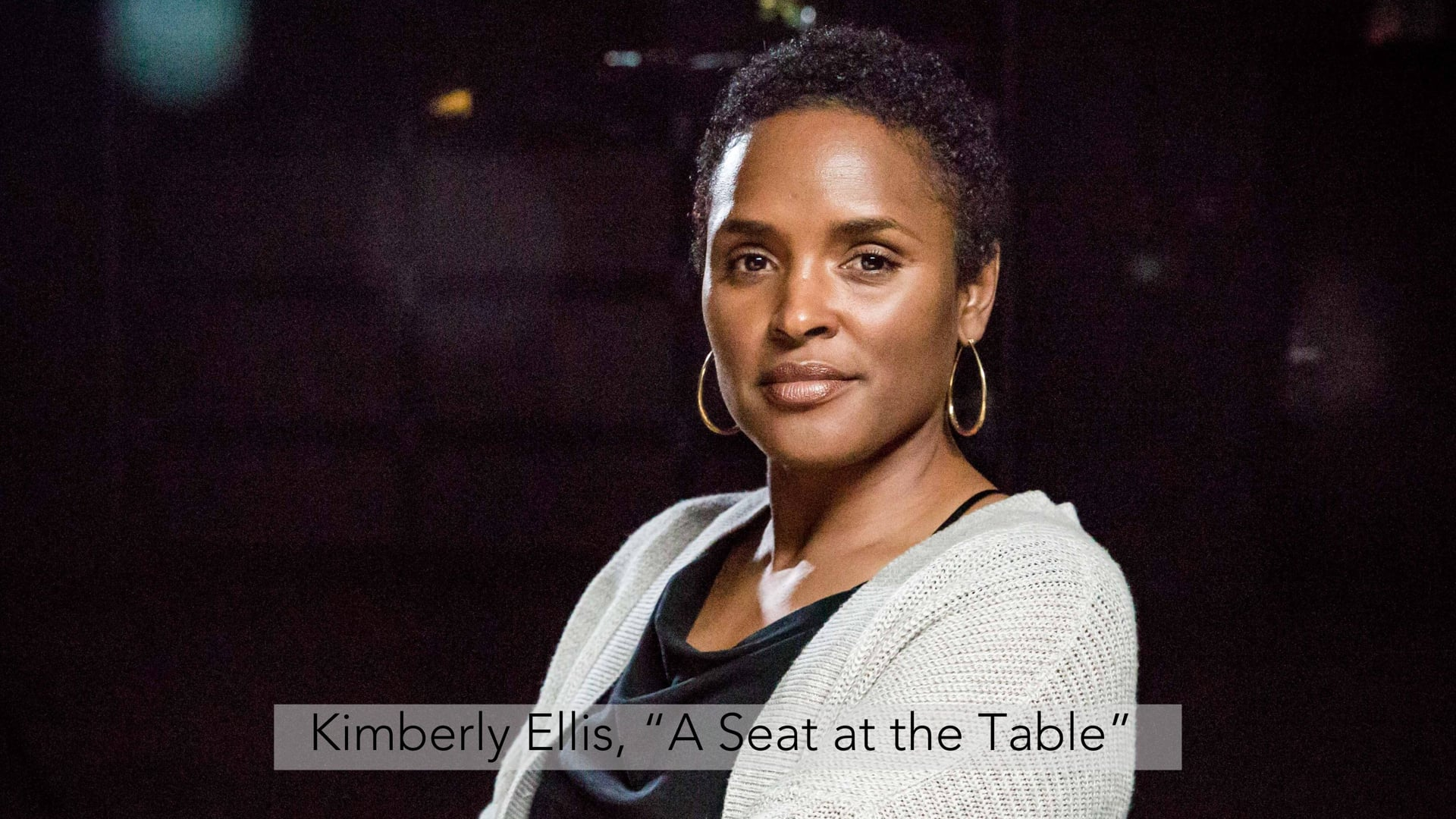 """Kimberly Ellis, """"A Seat at the Table"""""""