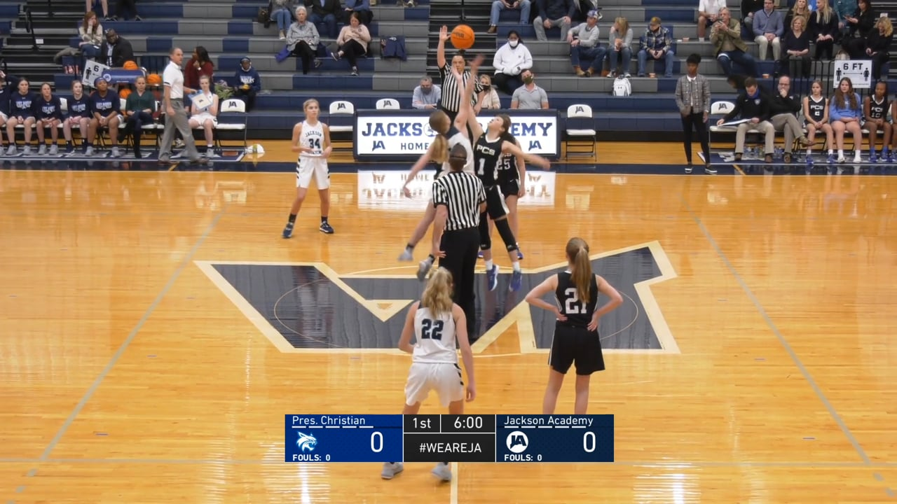 JV Girls Basketball vs PCS - 01-29-21