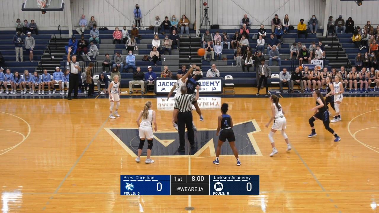 Varsity Girls Basketball vs PCS - 01-29-21