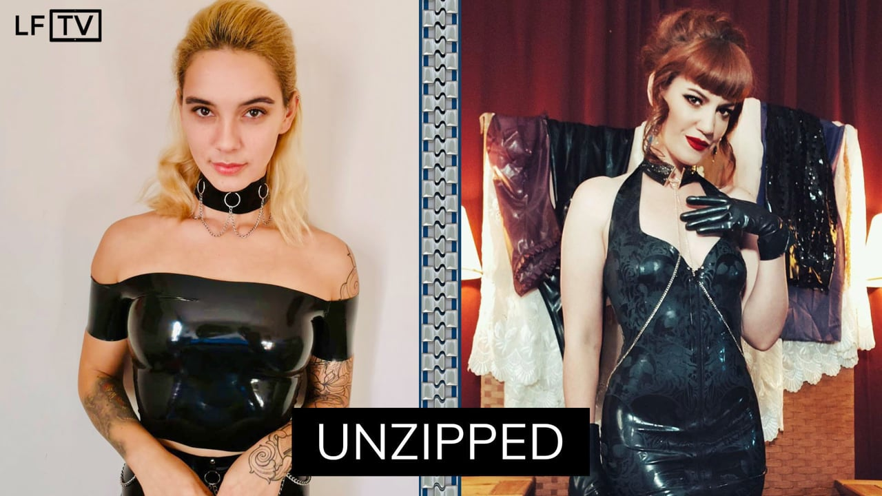 Witchy Pixie & Zoe Page - Unzipped #03 | LatexFashionTV