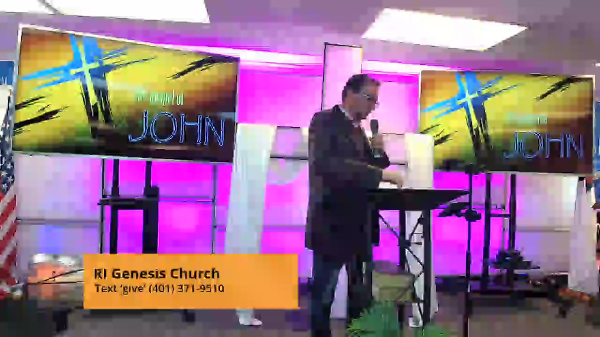"""The 7 """"I Am's"""" Pastor George Ellingwood"""