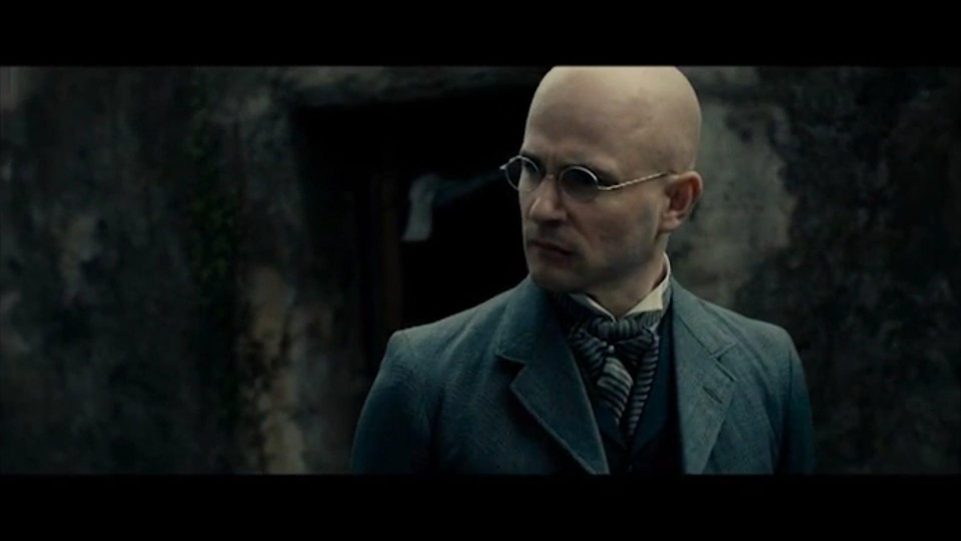 Ed Hughes as Dr Probyn in RIPPER STREET (Amazon)