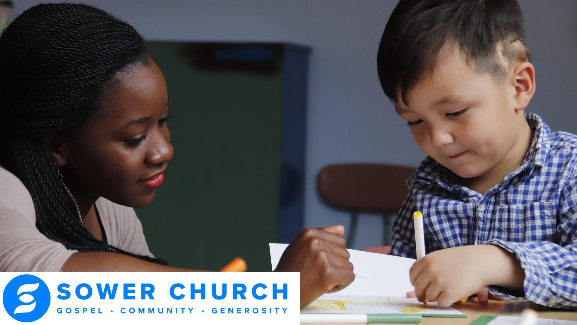 Sower Church Sunday Service Promo