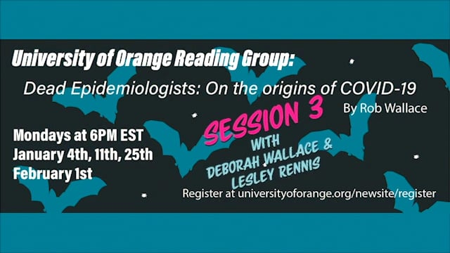 Dead Epidemiologists Reading Group: Session 3