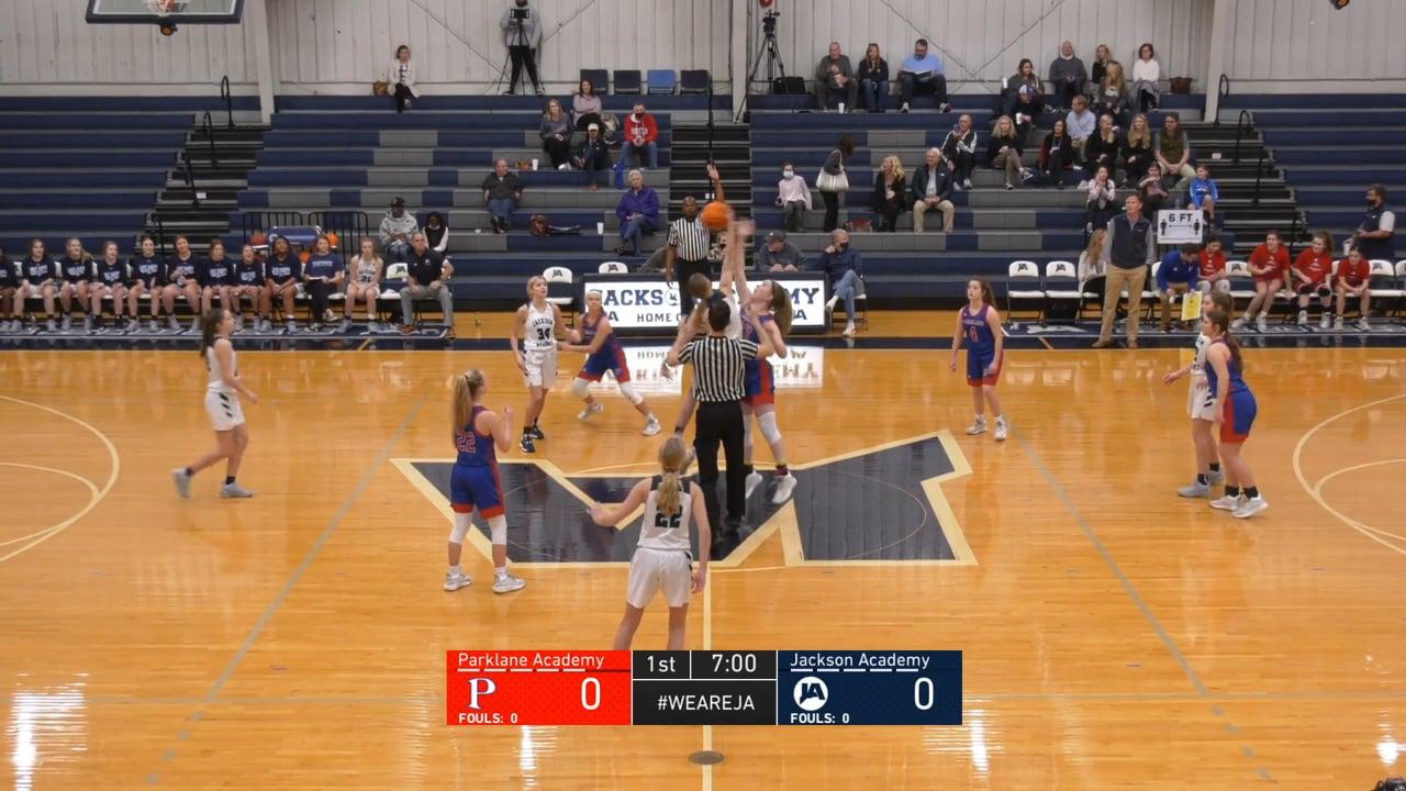 JV Girls Basketball vs Parklane - 01-30-21