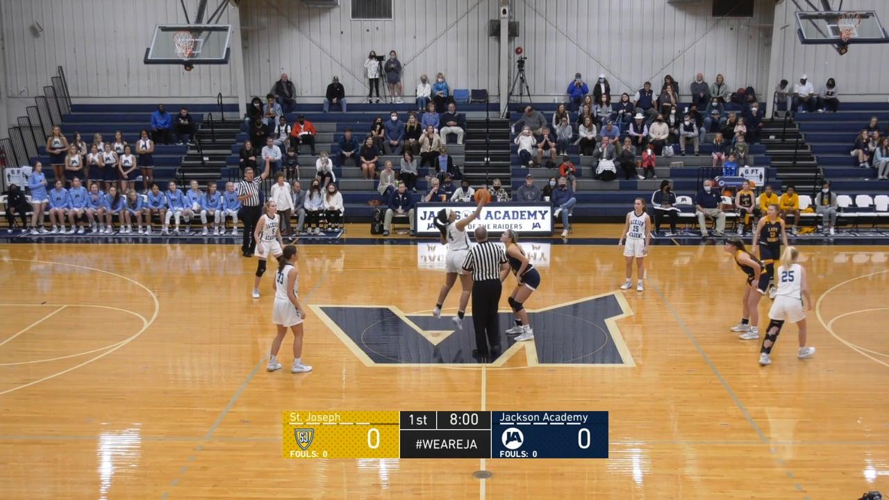 Varsity Girls Basketball vs St. Joseph - 01-30-21
