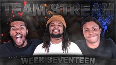 The Madden Beef Week 17 Team Stream!