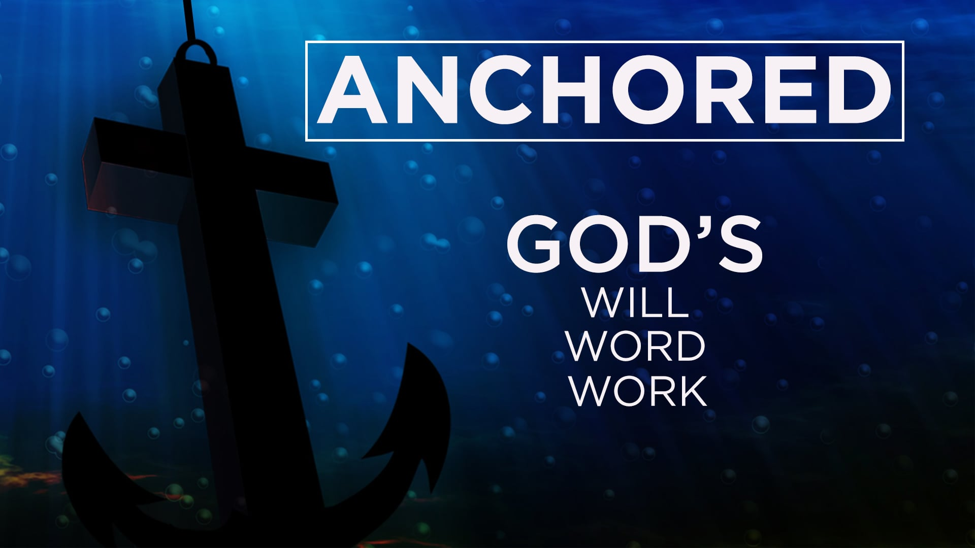 Anchored in God's Love