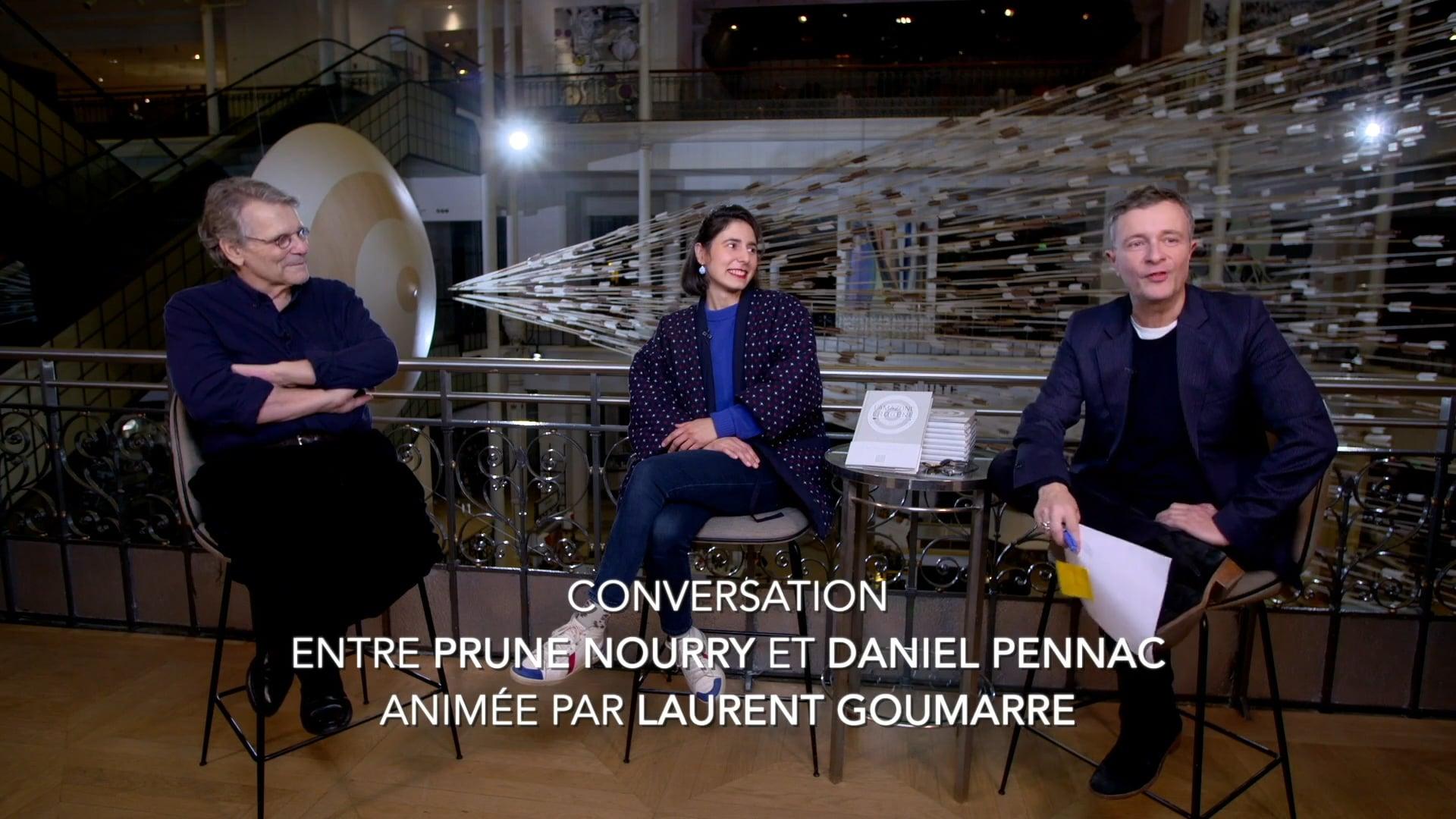 Prune Nourry & Daniel Pennac LIVE