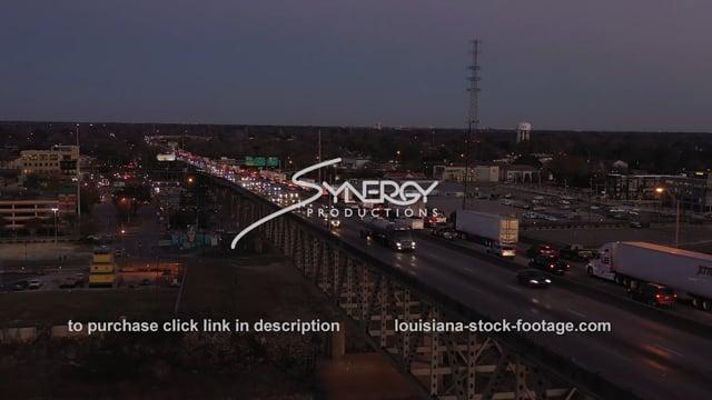 2536 Baton Rouge evening traffic