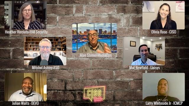 CISO Talk 2020 Ep 9 – TechStrong TV
