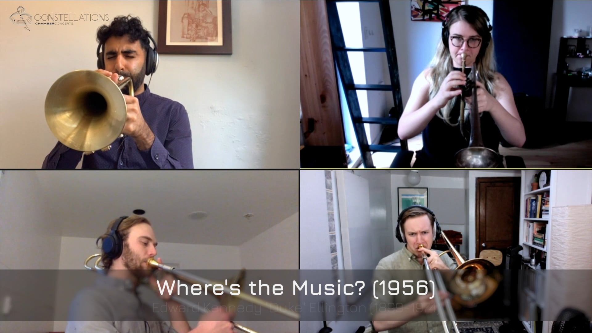 The Westerlies - Ellington: Where's the Music?
