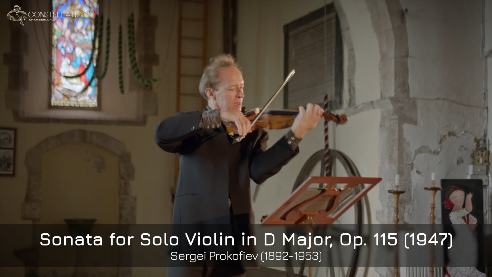 Anthony Marwood - Prokofiev: Sonata for Solo Violin, I. Moderato