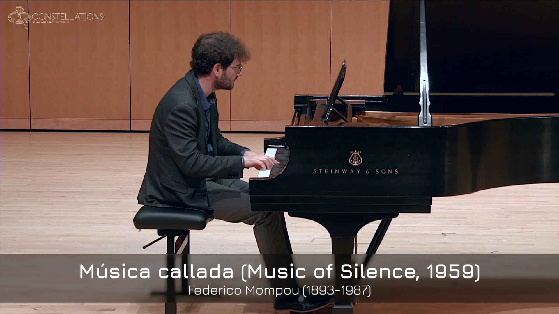 Daniel Pesca - Federico Mompou: Musica callada