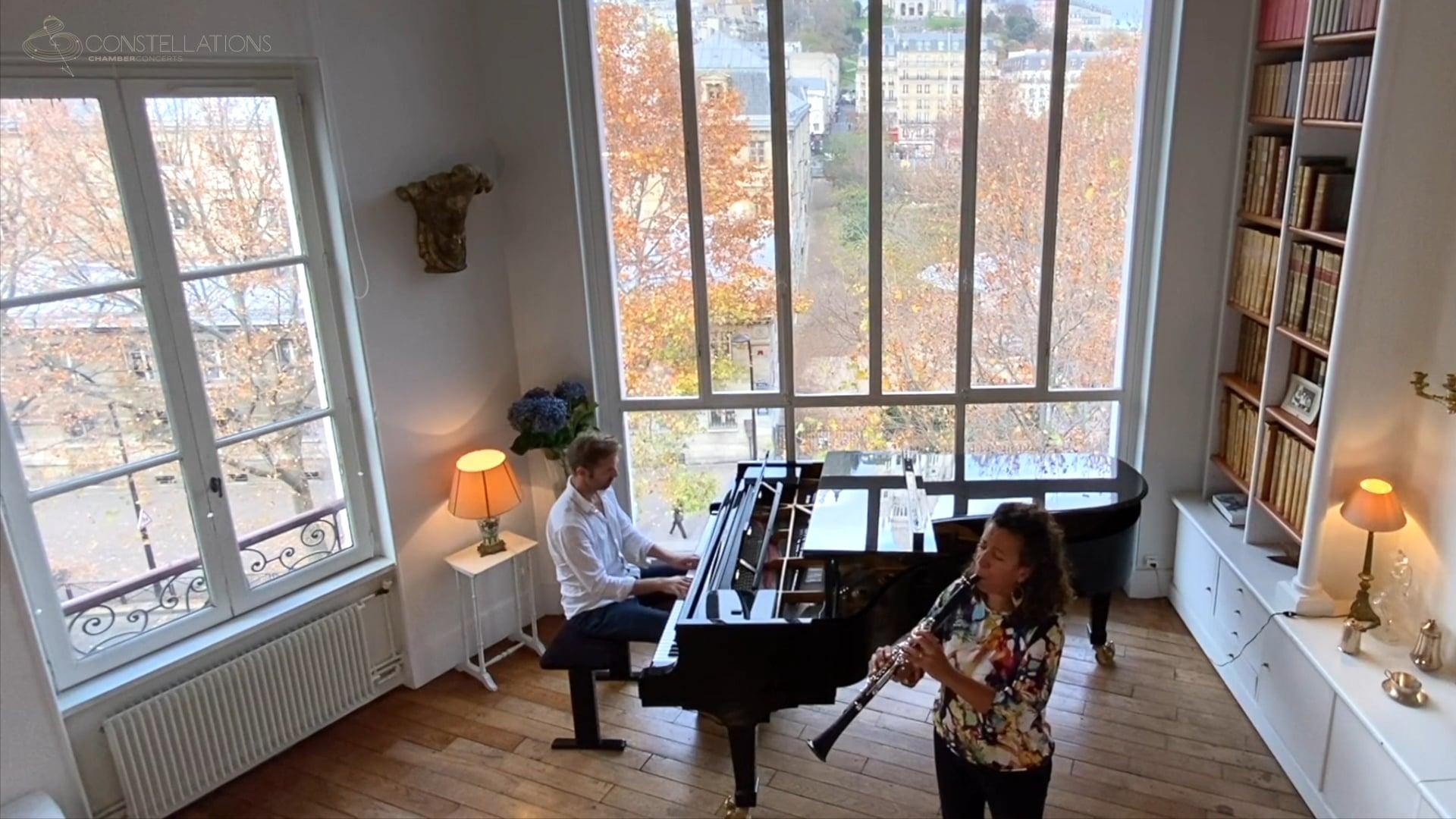 Mariam Adam & Andrew von Oeyen - Brahms: Clarinet Sonata Op. 120 No. 2, I. Allegro amabile