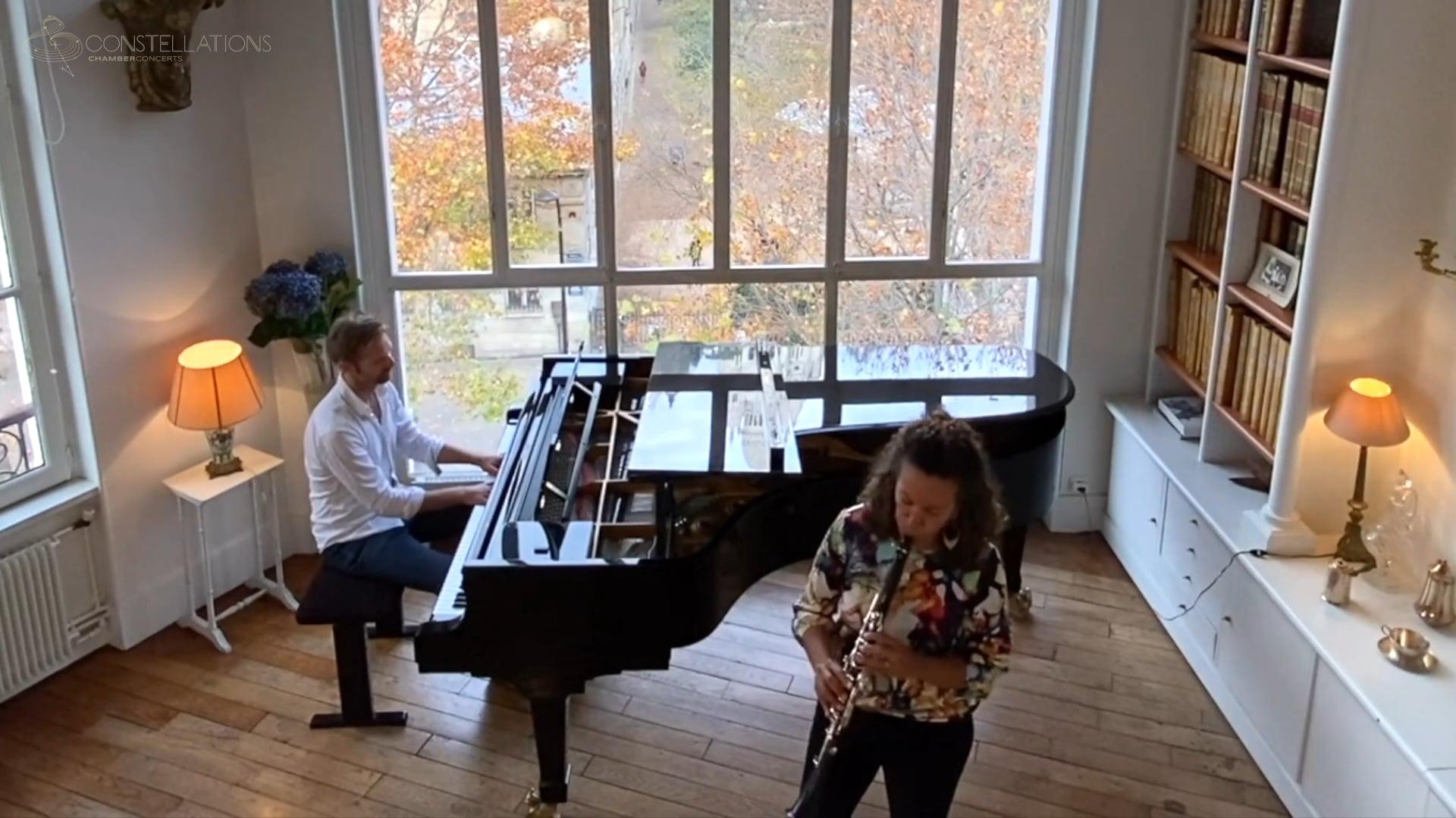 Mariam Adam & Andrew von Oeyen - Brahms: Clarinet Sonata Op. 120 No. 2, II. Allegro appassionato