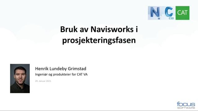 Hvordan bruke Navisworks som et 3D-visualiseringsvindu i prosjekteringsfasen