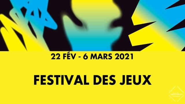 Festival des Jeux 2021