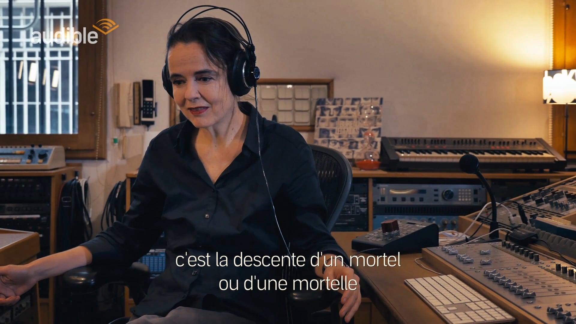 Documentaire audio La divine comédie d'Amélie Nothomb