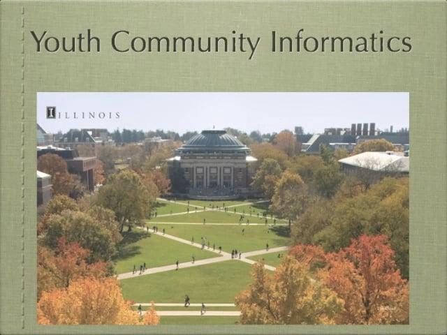 Youth Community Informatics, HASTAC, 2010