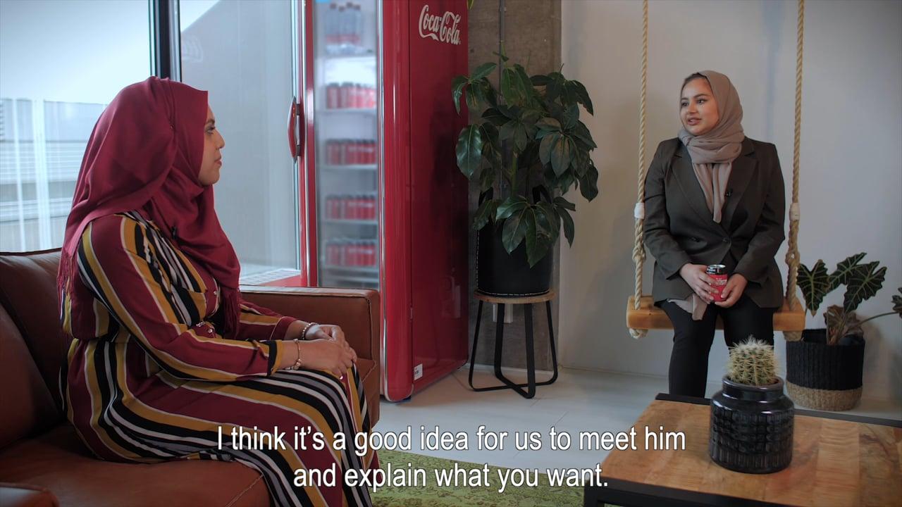 2020 Coca-Cola | Open to Better | Ruba & Asma | Engels ondertiteld