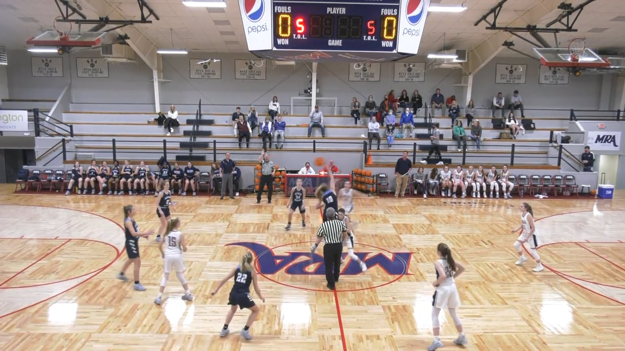 JV Girls Basketball at MRA - 02.04.21
