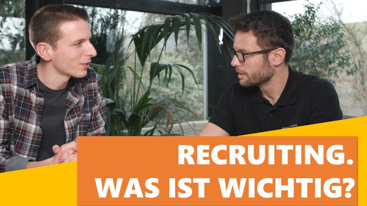 Recruiting Videos. Was ist wirklich wichtig?