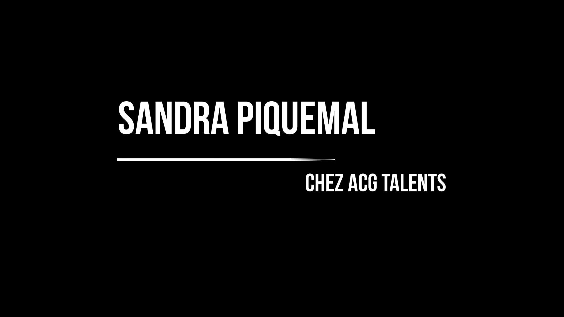 Demo Sandra Piquemal 2021
