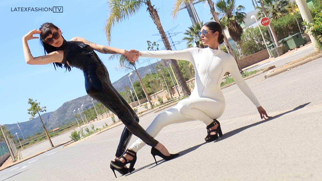 Stacie Mai & Misuzu in Spain | LatexFashionTV