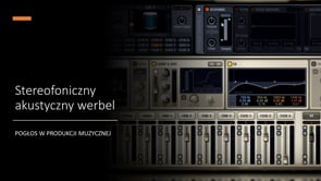 Stereofoniczny akustyczny werbel