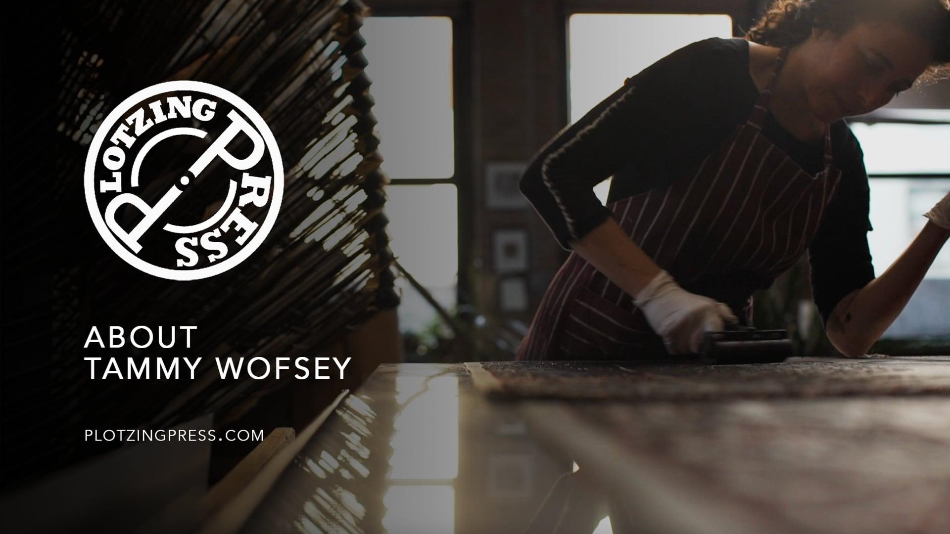 Tammy Wofsey - Artist, Plotzing Press